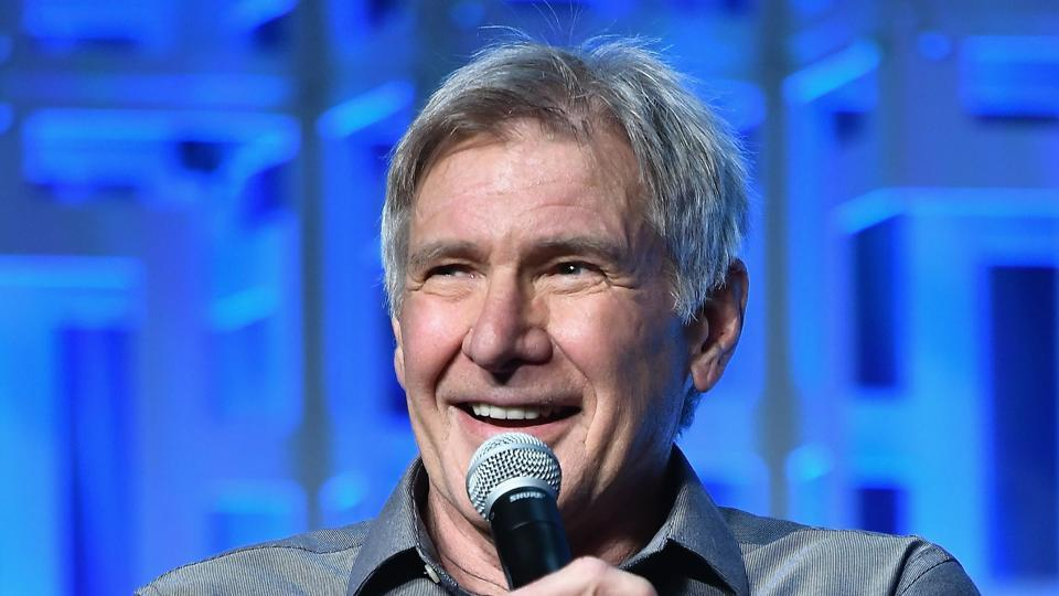 Harrison Ford attends the Star Wars Celebration Day 1 on April 13, 2017 in Orlando, Florida.