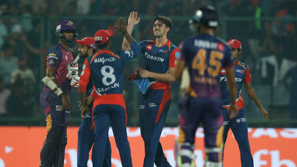 Karun Nair's gritty half-century and Zaheer Khan's 2/25 guided Delhi Daredevils to a 7-run win over Rising Pune Supergiant in an IPL 2017 game at the Feroz Shah Kotla Stadium. Get full cricket score of Delhi Daredevils vs Rising Pune Supergiant here