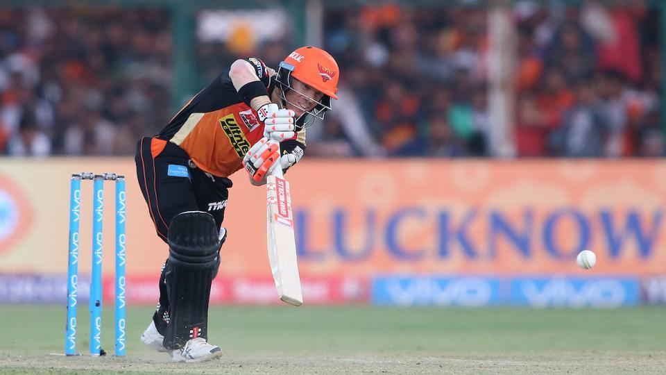 But Sunrisers Hyderabad captain David Warner was always in control of the situation. The southpaw ended up with an unbeaten 69. (BCCI)