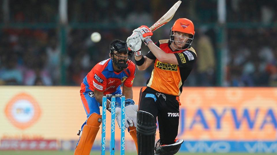An unbeaten 133-run partnership between Warner and Shankar took the Sunrisers Hyderabad home with eight wickets and 11 balls to spare. (BCCI)
