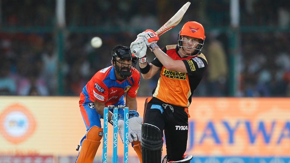 David Warner's unbeaten 52-ball 69 guided Sunrisers Hyderabad to a comfortable 8-wicket win over Gujarat Lions at Kanpur. With this, SRH became the second team to qualify for IPL 2017 playoffs. Catch full cricket score of Gujarat Lions vs Sunrisers Hyderabad here