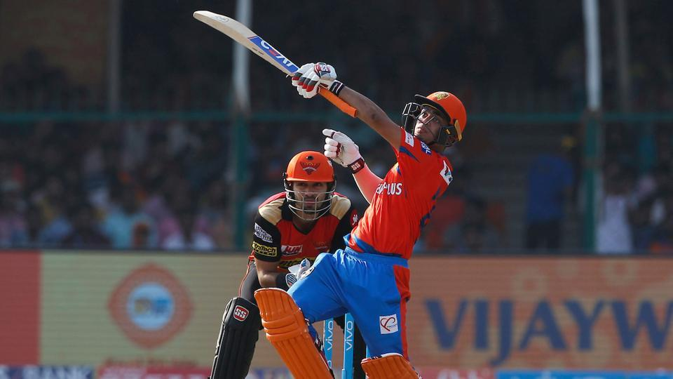 With Kishan and Smith steady, Gujarat Lions looked like they would go on to score a big total, easily in excess of 200. (BCCI)