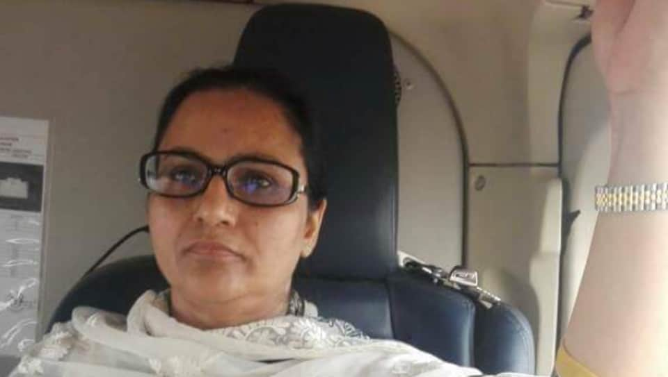 """Minister of state Razia Sultana flew to Amritsar on a chopper to attend """"urgent"""" meetings. The chopper-ride was even flaunted on Facebook by the 'Malerkotla Congress' on May 3 and 4."""