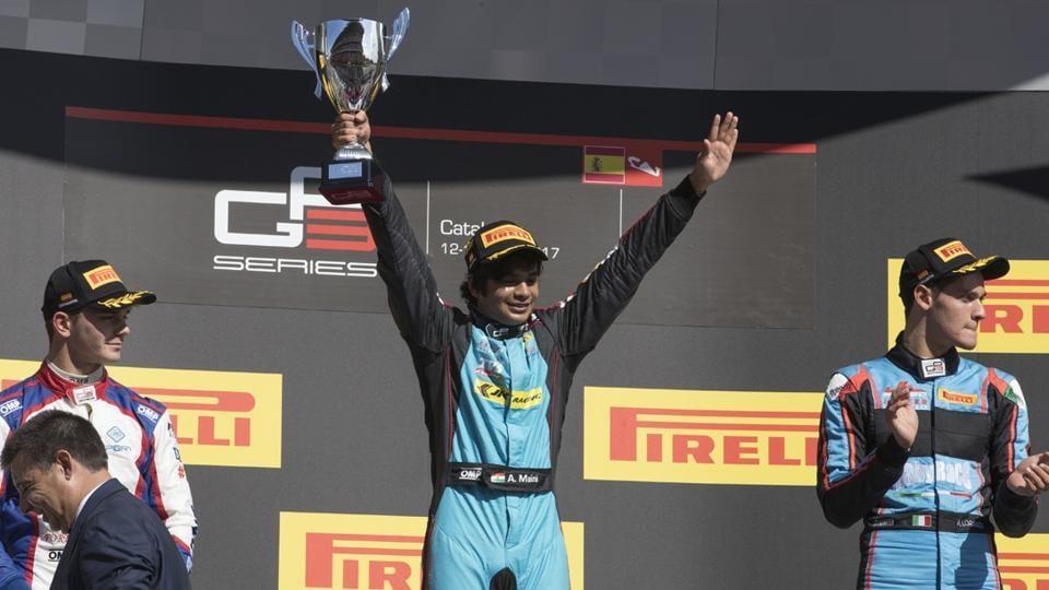 Arjun Maini,Haas F1 team,Spanish GP