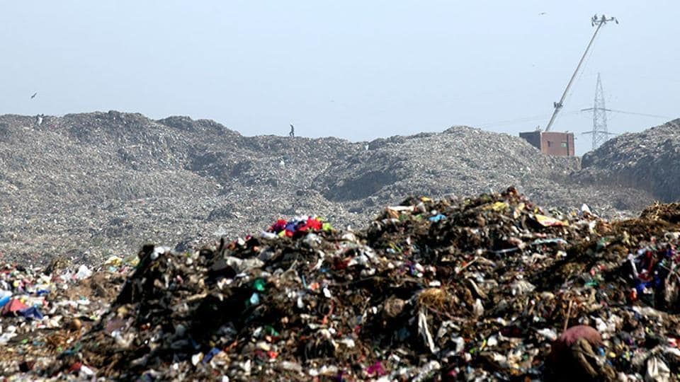 The overburdened Deonar dumping ground.