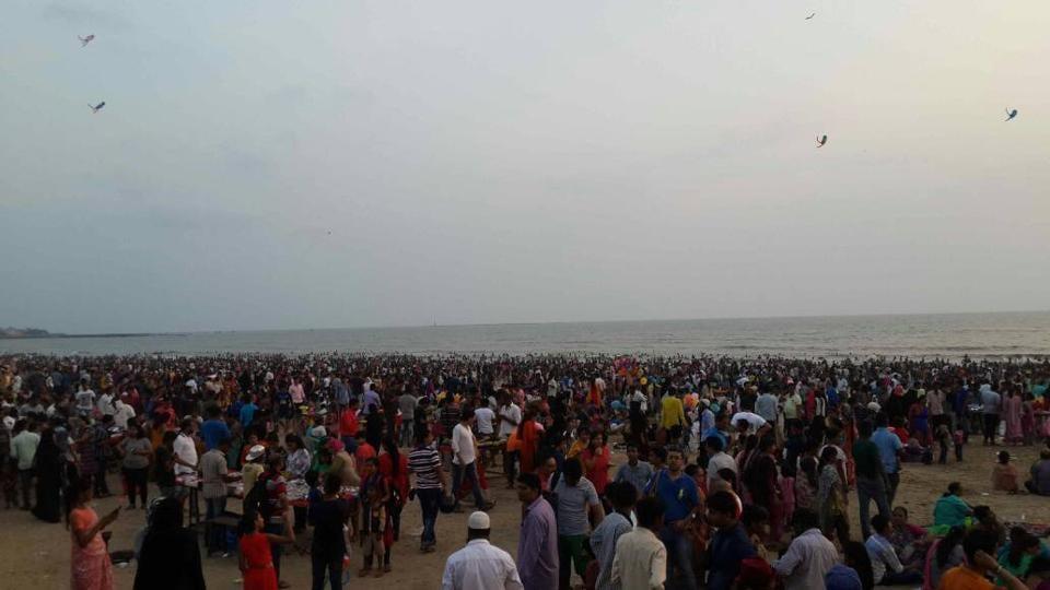 Juhu beach,Santacruz,Mumbai