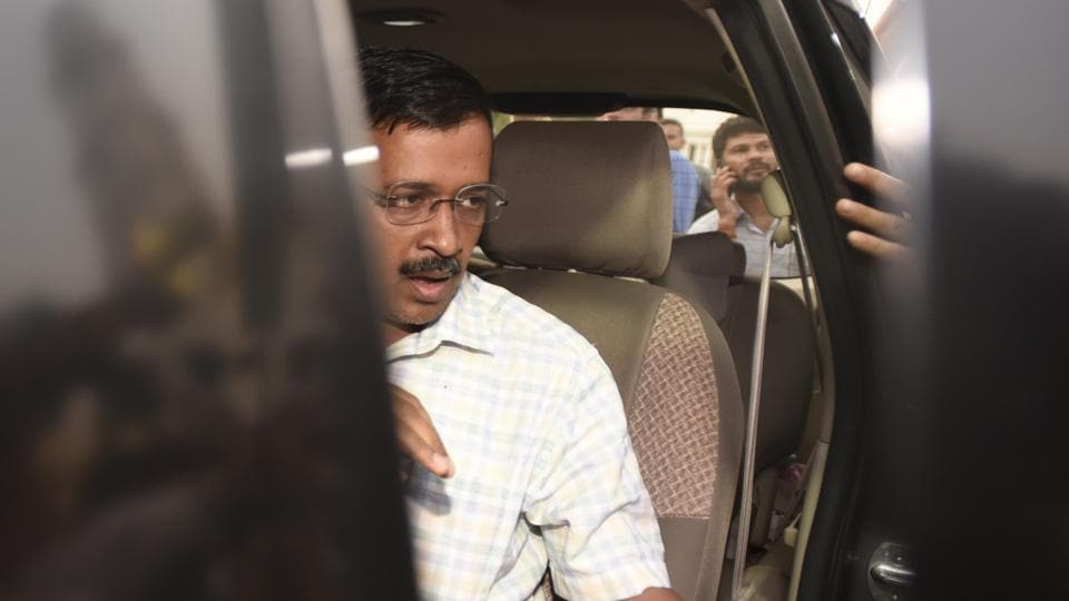 Delhi chief minister Arvind Kejriwal has been accused of graft in the water tanker scam.