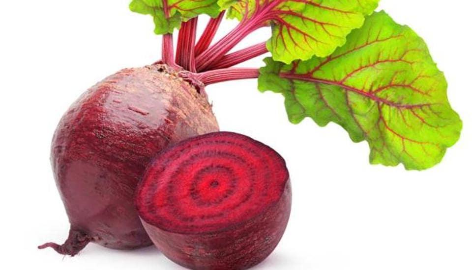 Beetroot helps dilate blood vessels to decrease blood pressure.