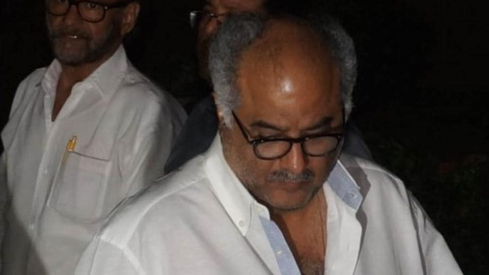 Boney Kapoor has refuted rumours that Hrithik Roshan has been approached for the film