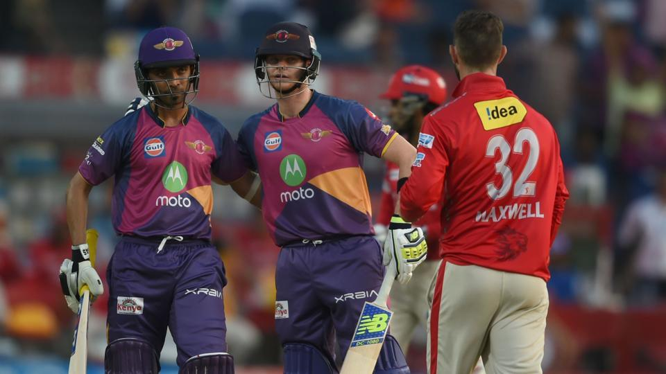 Rising Pune Supergiant thrashed Kings XI Punjab by 9 wickets in Pune on Sunday to reach the IPL 2017 playoffs.