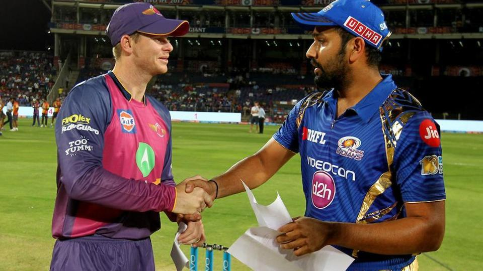 Steve Smith-led Rising Pune Supergiant (RPS), who finished second in the standings, will face table toppers, Rohit Sharma-captained Mumbai Indians in the 2017 Indian Premier League (IPL) Qualifier 1 on Tuesday.