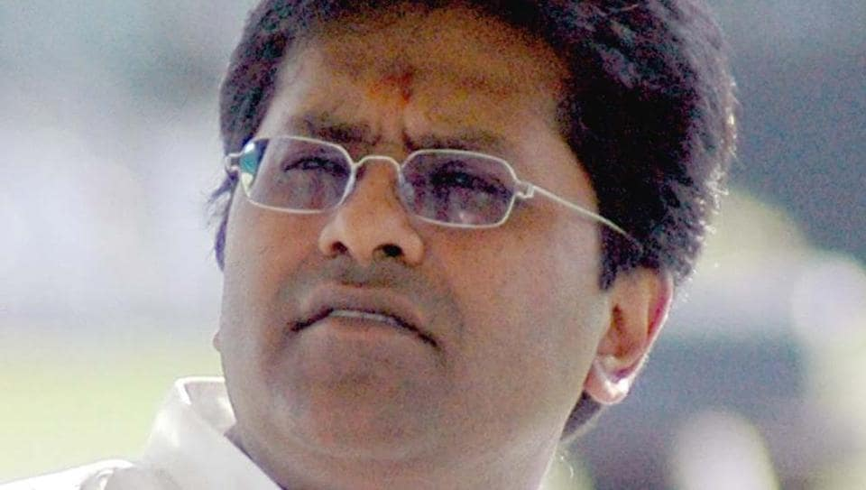 Lalit Modi left India in 2010 following alleged financial irregularities in the Indian Premier League's 2009 season.