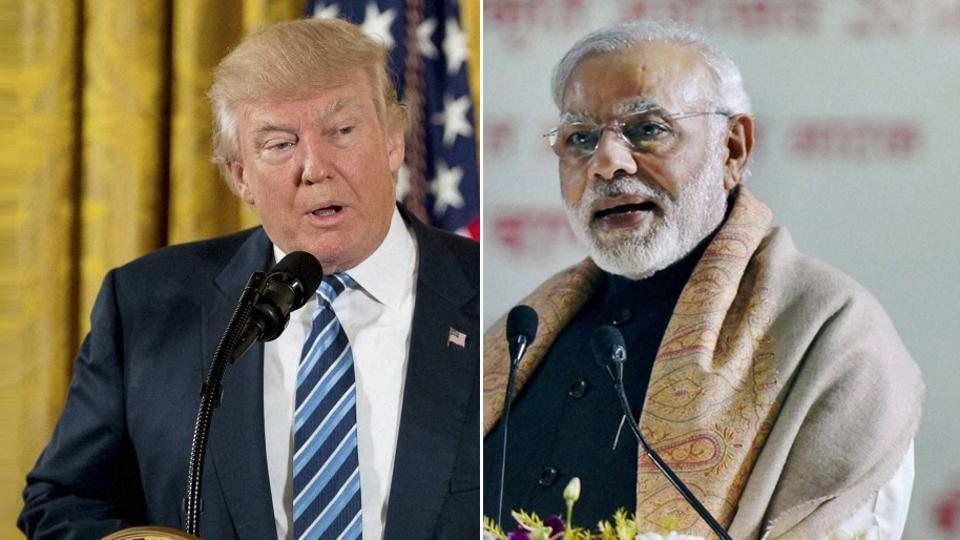 PM Modi,US President,Donald Trump