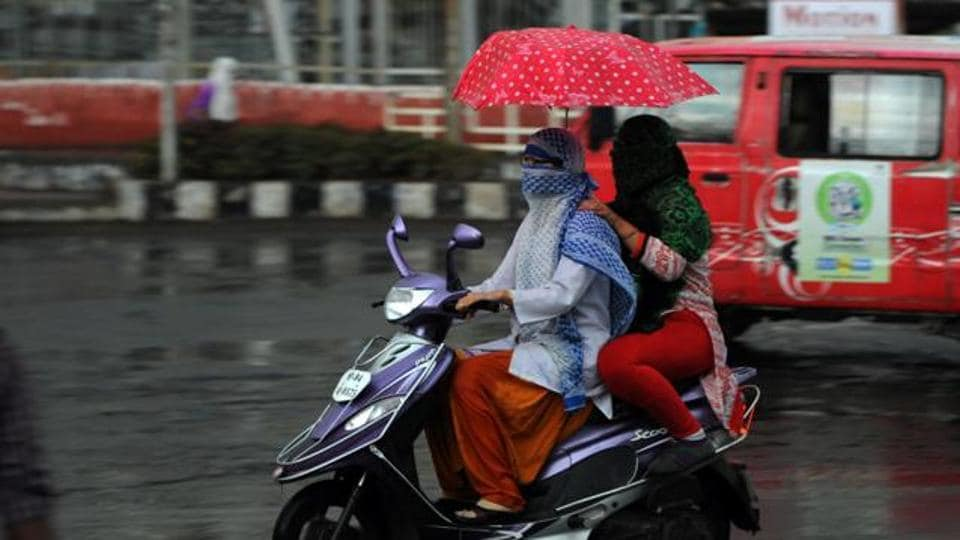 Moderate rain or thundershowers accompanied by gusty winds will hit certain areas of Andhra Pradesh while some places in the state will experience heat wave.