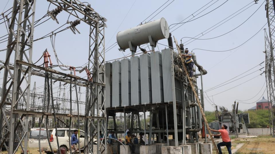 A transformer cable that facilitates supply of electricity to households.