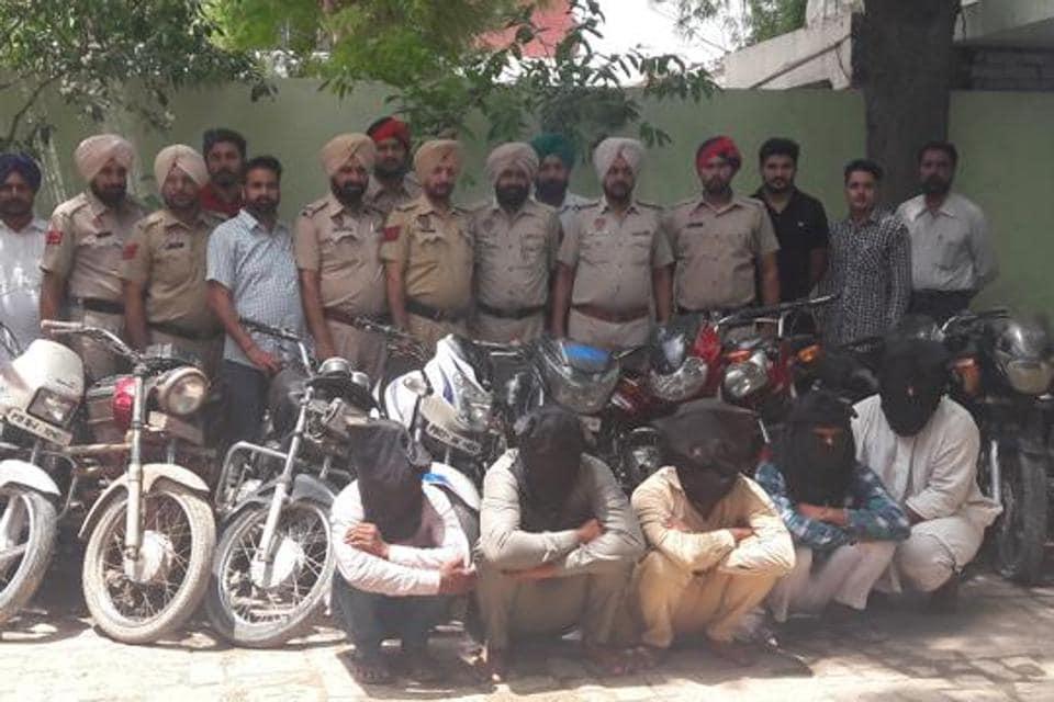 The accused in police custody in Mansa on Sunday.