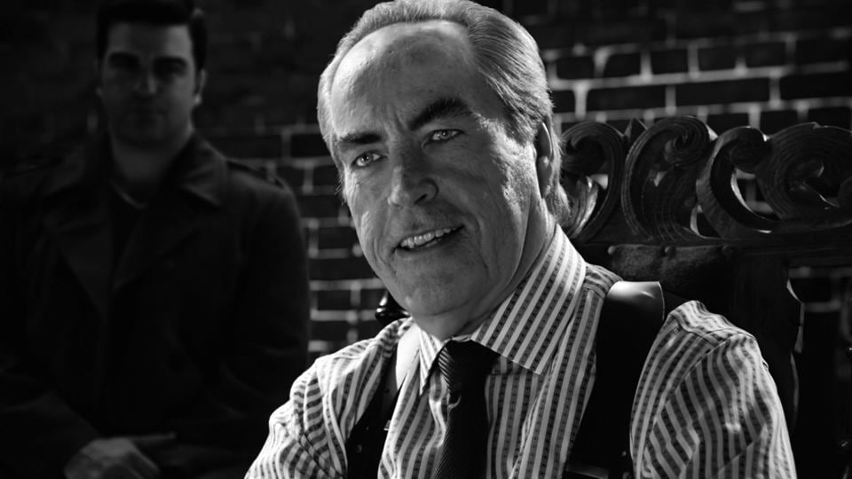 Powers Boothe played Senator Roark in the two Sin City movies.