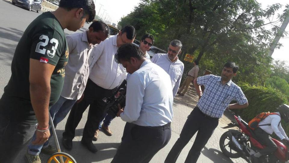 The team which conducted the measurement also included excise department officials.