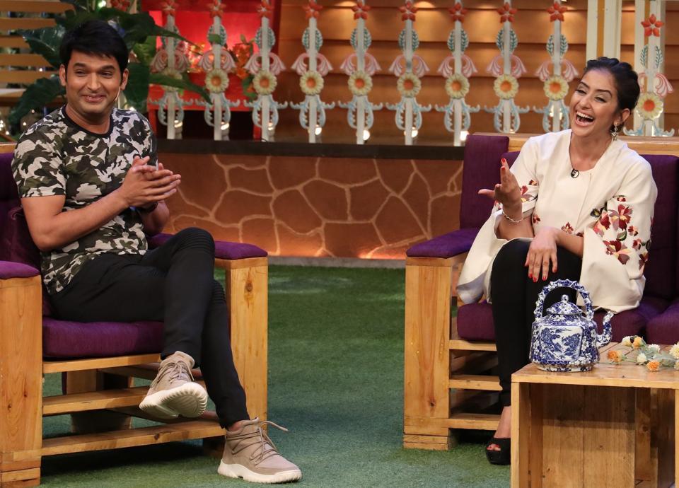 Manisha Koirala,The Kapil Sharma Show,Kapil Sharma
