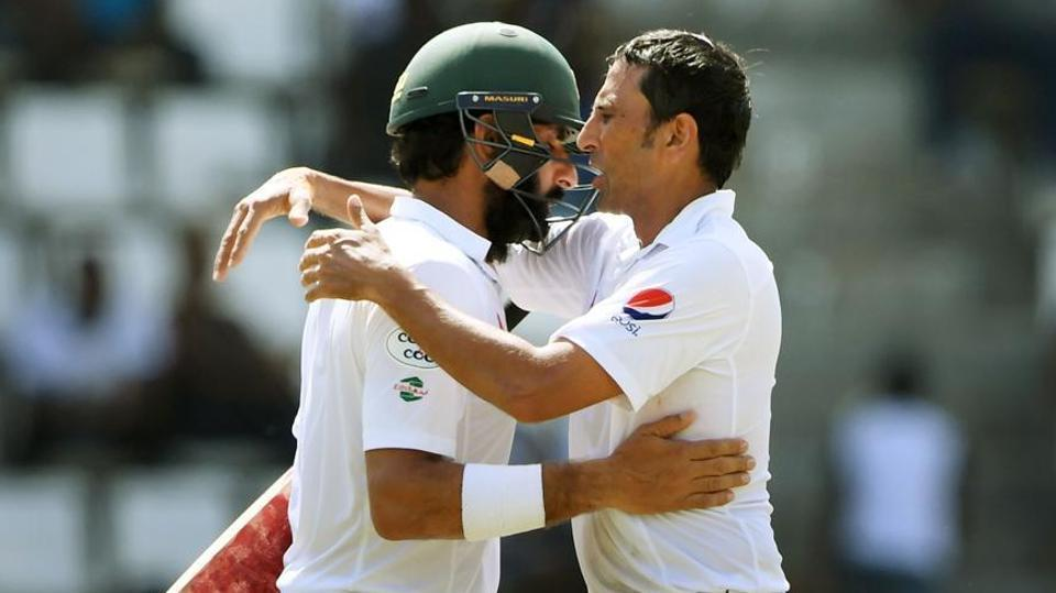 Misbah-Younis have played, between them, 193 Test matches for Pakistan cricket team, with Misbah-ul-Haq scoring 5,222 runs in 75 Tests while Younis Khan amassing 10,099 Test runs in 118 matches, including 34 hundreds and 33 half-centuries.
