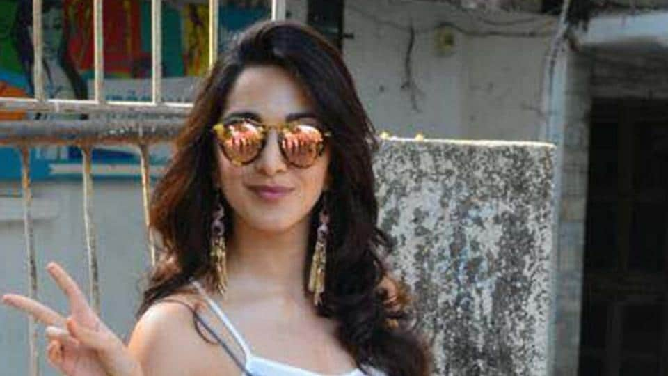 Actor Kiara Advani says she is lucky to have got the chance to work with directors whose films she has grown up watching.
