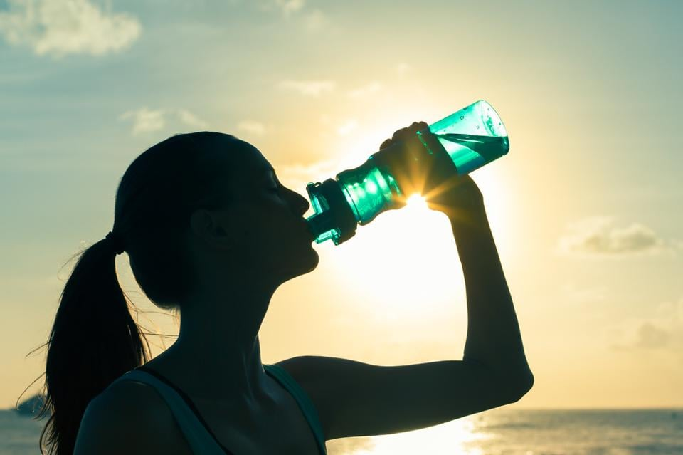 Keep yourself hydrated to prevent a heat stroke.