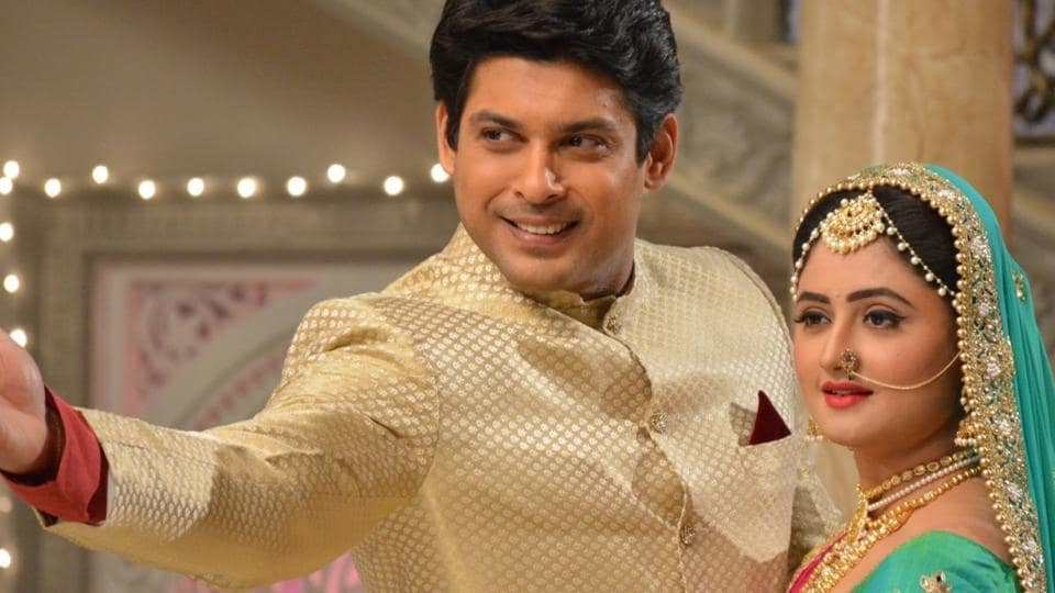 Actors Sidharth Shukla and Rashami Desai in a still from the show.