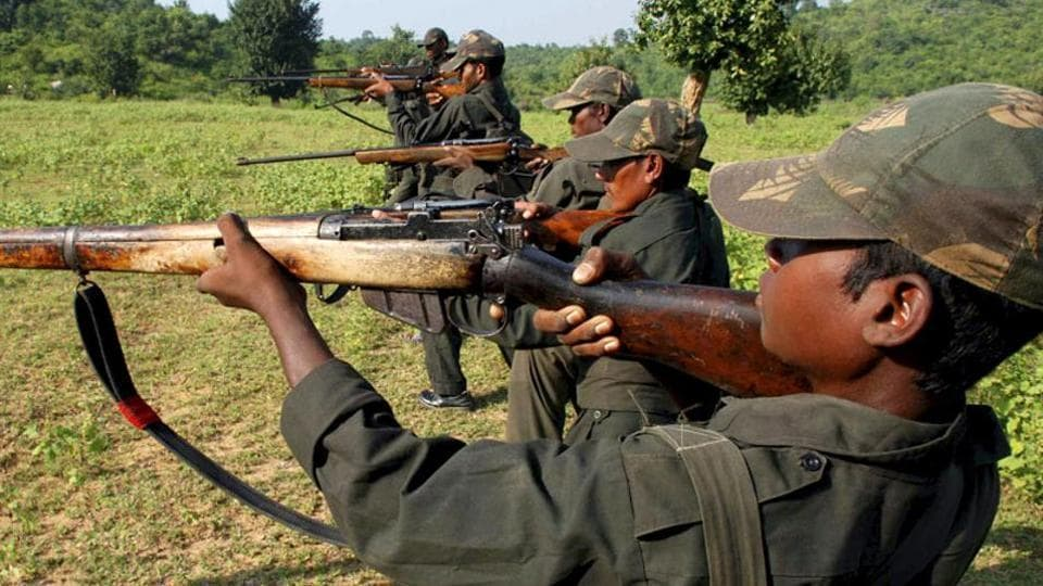 Jawan injured,gunbattle,Maoists
