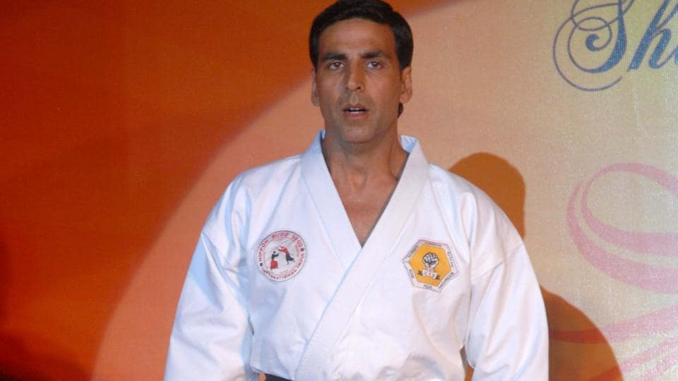 Akshay Kumar says that martial arts is a way of life for him.