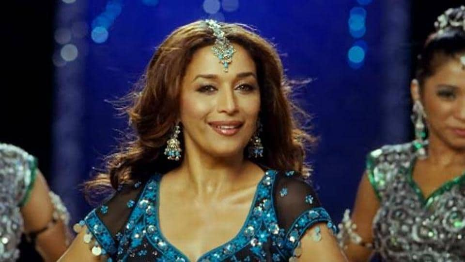 Bollywood actor and dance diva Madhuri Dixit celebrates her 50th birthday on Monday.