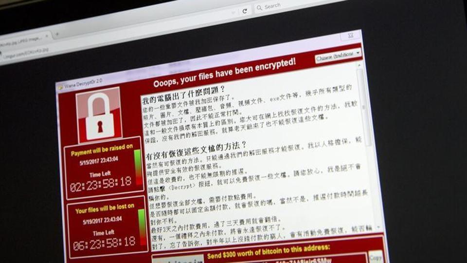 WannaCry,Ransomware,Cyberattack