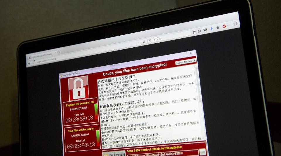 Ransomware,WannaCry,Cyber attack