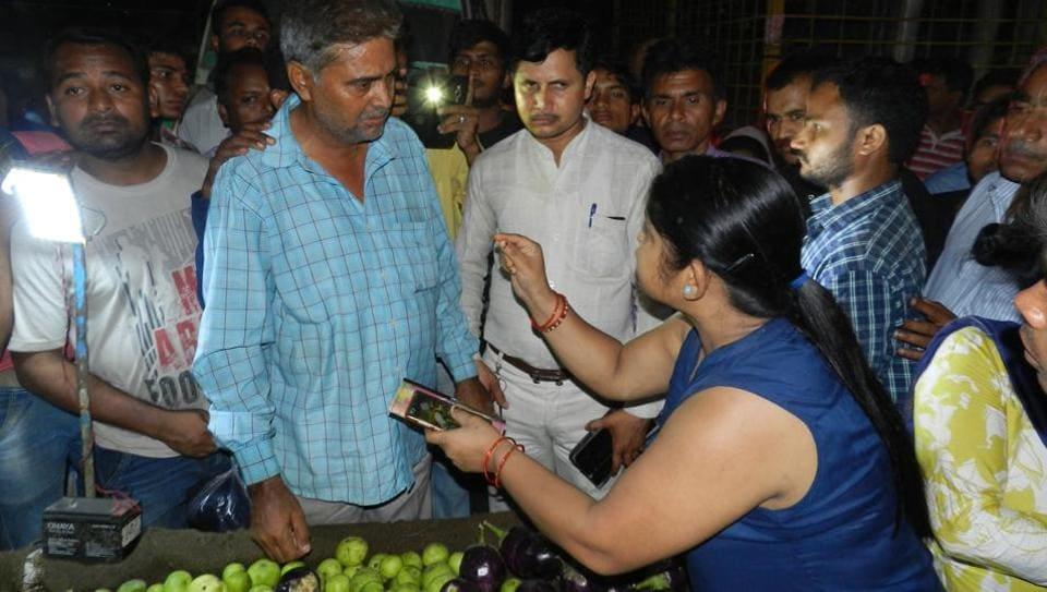 Vaishali market,Explosives Act,Agra forensic laboratory