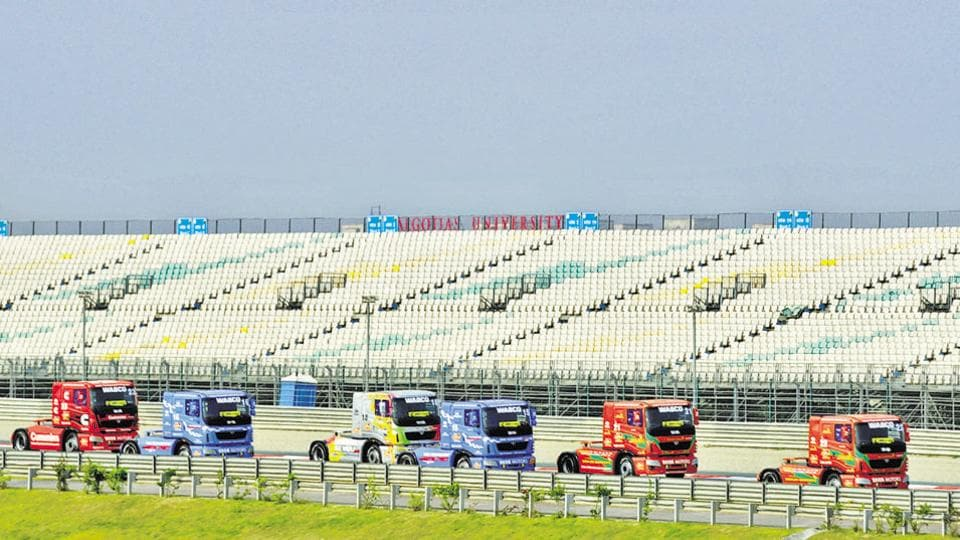 The Yamuna Expressway Industrial Development Authority had threatened to cancel allotment of land on which Formula 1 and other sports facilities are built, if the builder failed to pay.