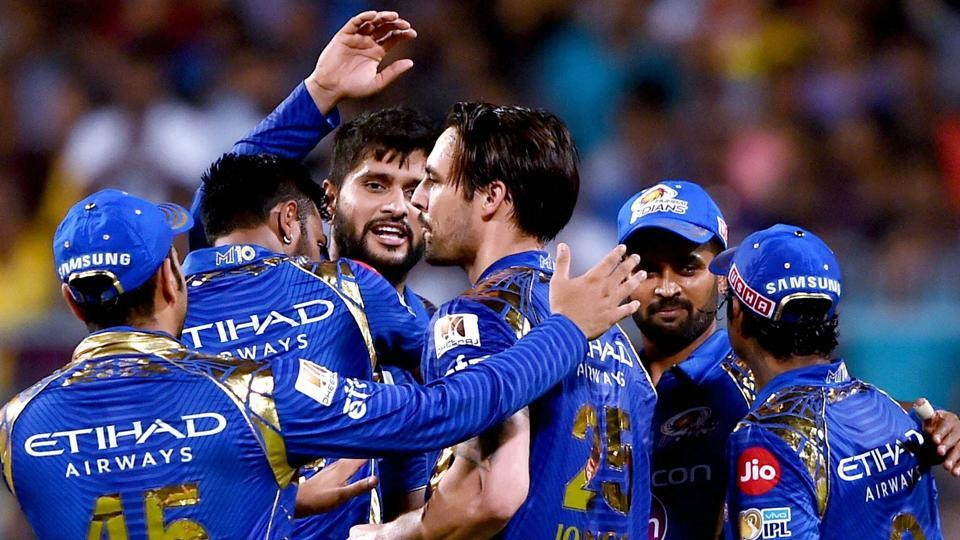 Mumbai Indians face Rising Pune Supergiant in Qualifier 1 of the Indian Premier League.