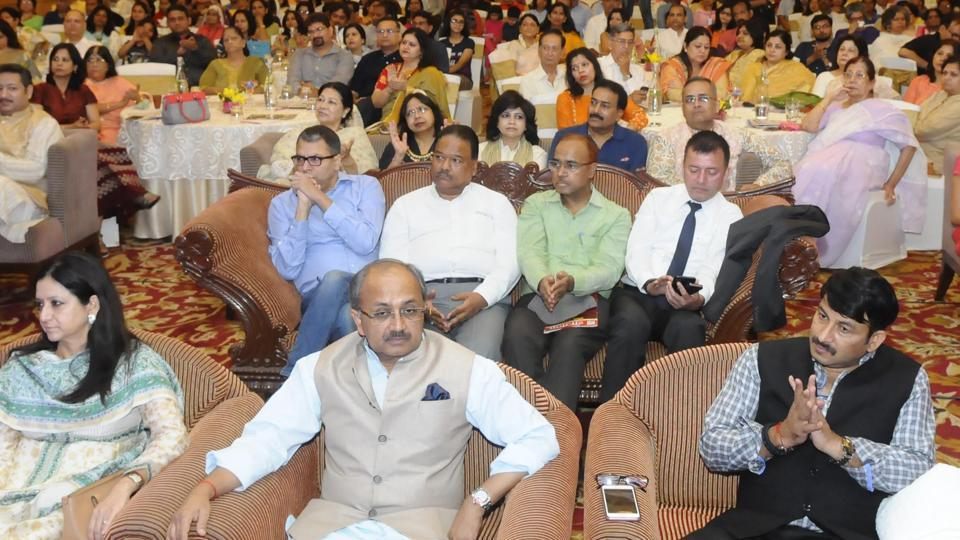 The audience at HT  Woman Awards 2017 in Lucknow on Sunday.