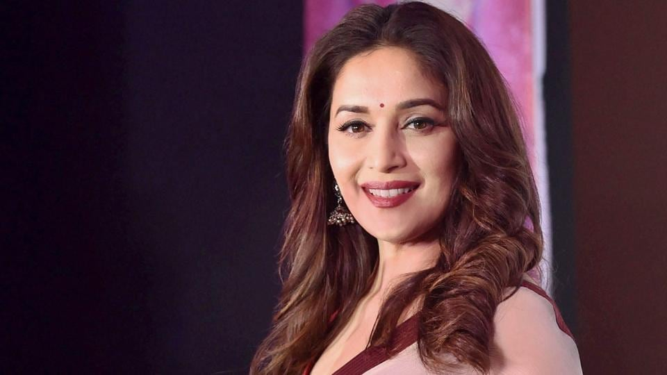 Actor Madhuri Dixit turns 50 today and  fans can't enough of her gorgeous looks and dimple smile.