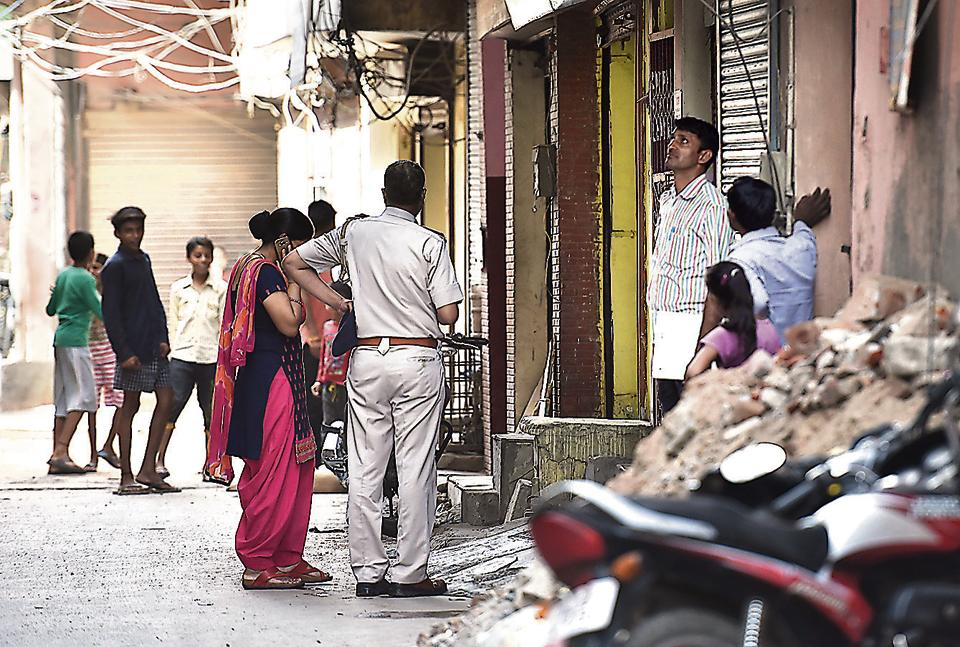 Gurgaon police at Sector 17 on Monday to make inquiries in connection with the abduction and gangrape of a 26-year-old Sikkimese woman on Saturday. Police said they are going all out to nab the culprits at the earliest.