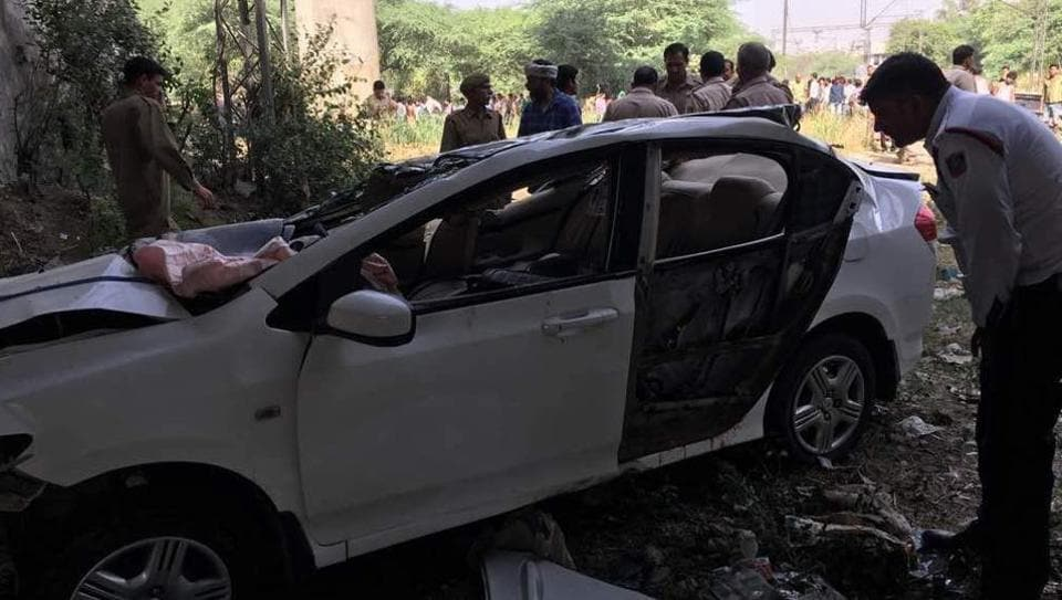 Seven students were driving down to their exam centre on Monday when their car met with an accident and fell off a flyover in Punjabi Bagh. Two students dies on the spot while two other succumber later. Three are still in ICU.