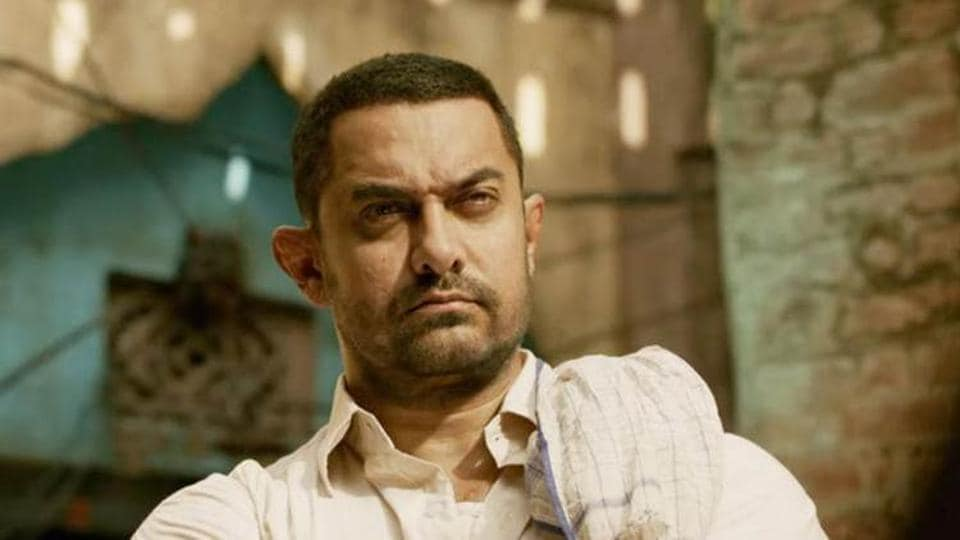 Aamir Khan plays a former wrestler in Dangal.