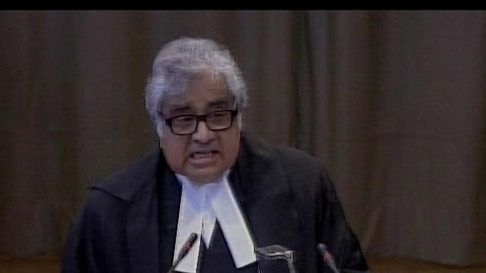 Harish Salve,Kulbhushan Jadhav,Kulbhushan Jadhav case