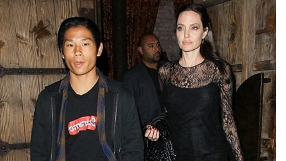 In Pics Angelina Jolie Spent Mothers Day With Son Pax Hollywood