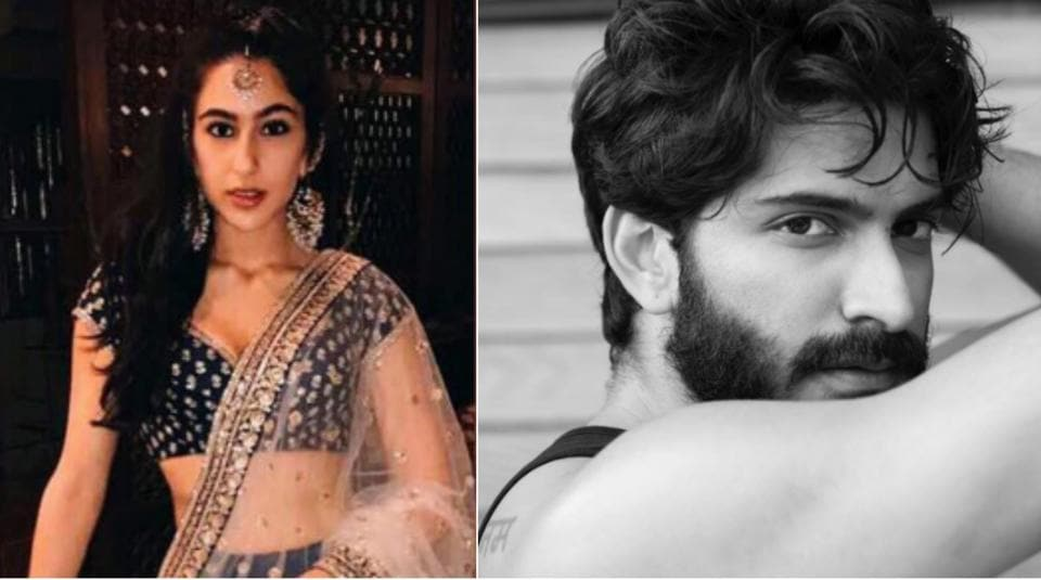 Actor Harshvardhan Kapoor and Sara Ali Khan were  spotted at a Mumbai restaurant two months back.