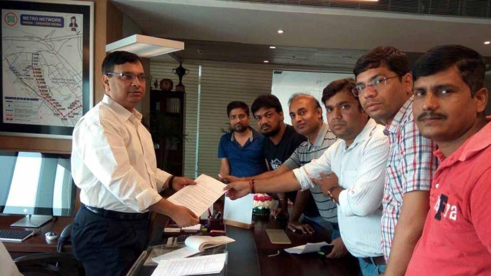 Greater Noida authority office