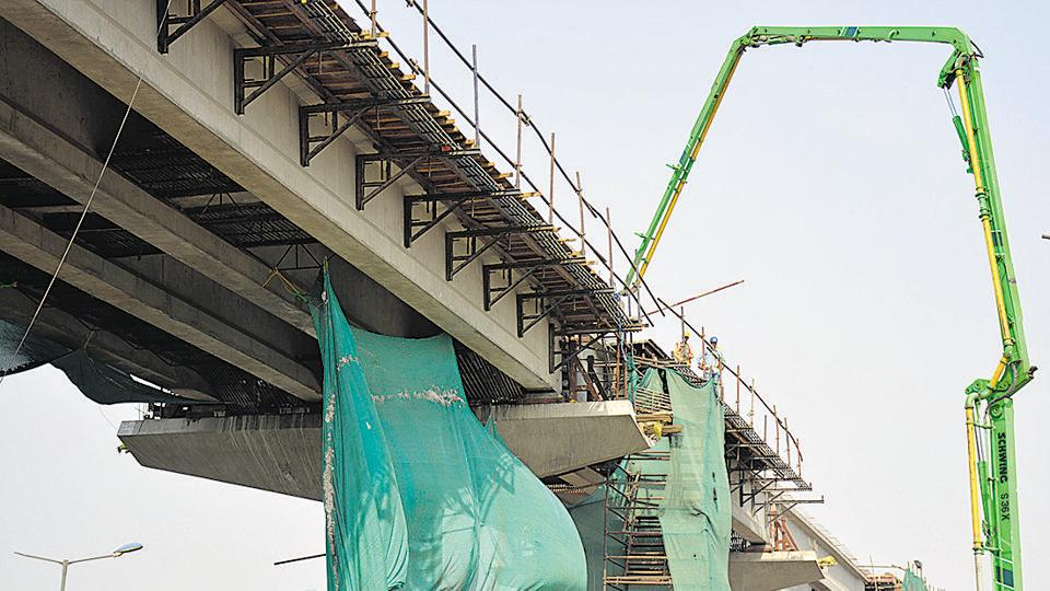 The present cost of the 9.41km metro extension to Ghaziabad is pegged at around Rs2,210 crore, which includes a Rs1,479.6 crore share of various state agencies.