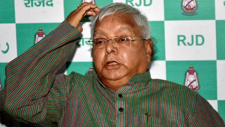 Lalu Prasad,Income Tax dept,RJD chief