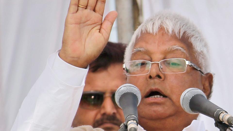 Lalu Prasad Yadav,Income tax dept raids,Lalu tweet