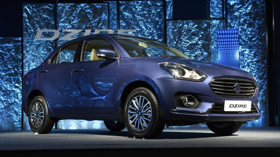 Since its launch in 2008 and through a sub-four-metre makeover in 2012, over 13 lakh units of the Dzire have been rolled out of Maruti Suzuki's factories. (Saumya Khandelwal/HT PHOTO)