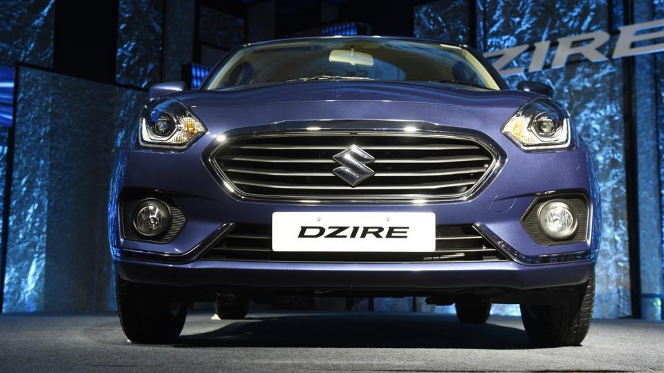 Completely re-engineered and designed on a new HEARTECT platform, the new Dzire's body is built to withstand frontal collision and side impact. (Saumya Khandelwal/HT PHOTO)