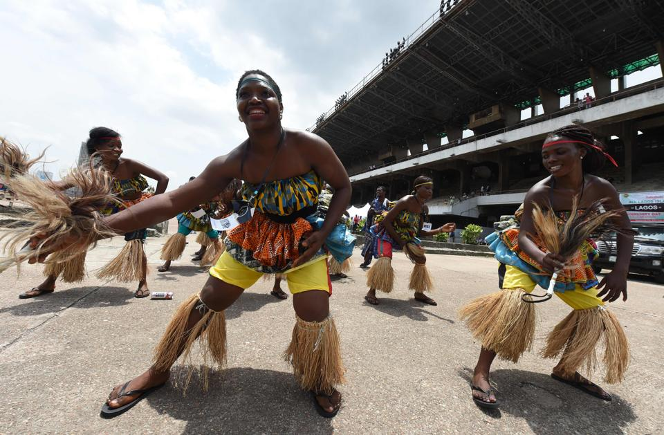 The month-long Carnival is a platform for showcasing rich Nigerian heritage (PIUS UTOMI EKPEI / AFP)
